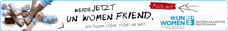 UN Women friend Spendenaktion, online-Banner