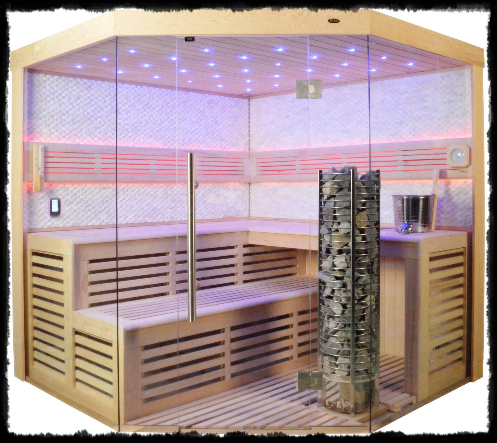 Sauna im Badezimmer - harzlichs Webseite!