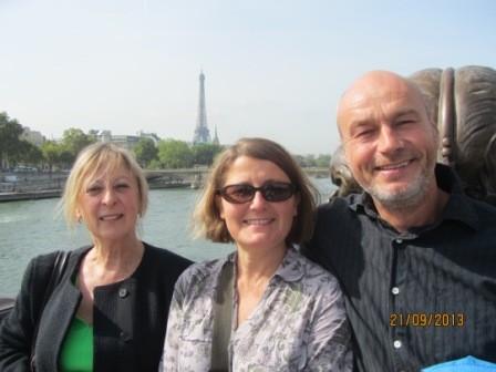 Visite Paris avec élèves