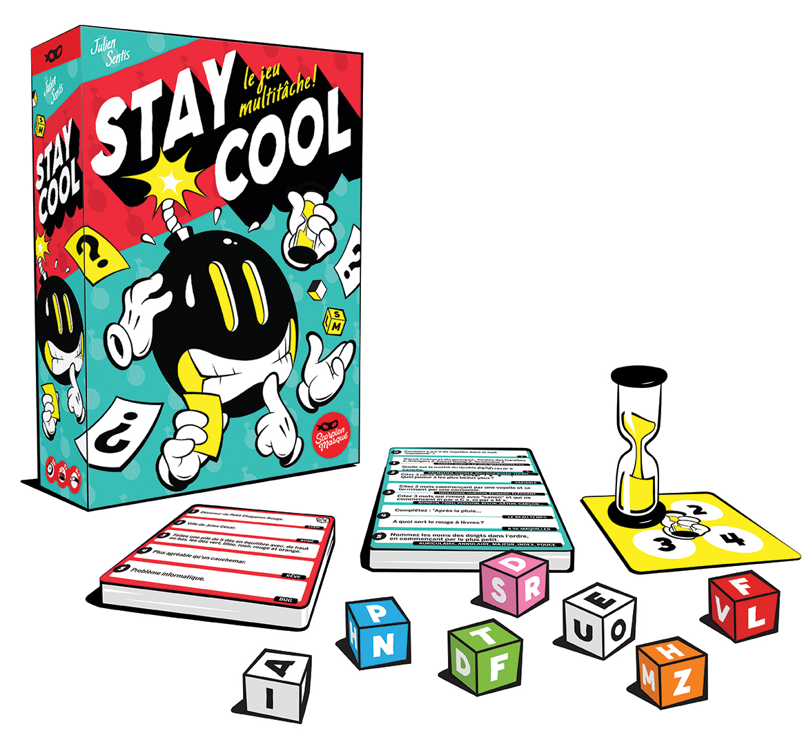 Stay cool [Le Scorpion Masqué]