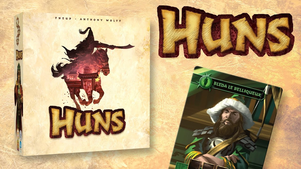 HUNS [La boîte à jeux]