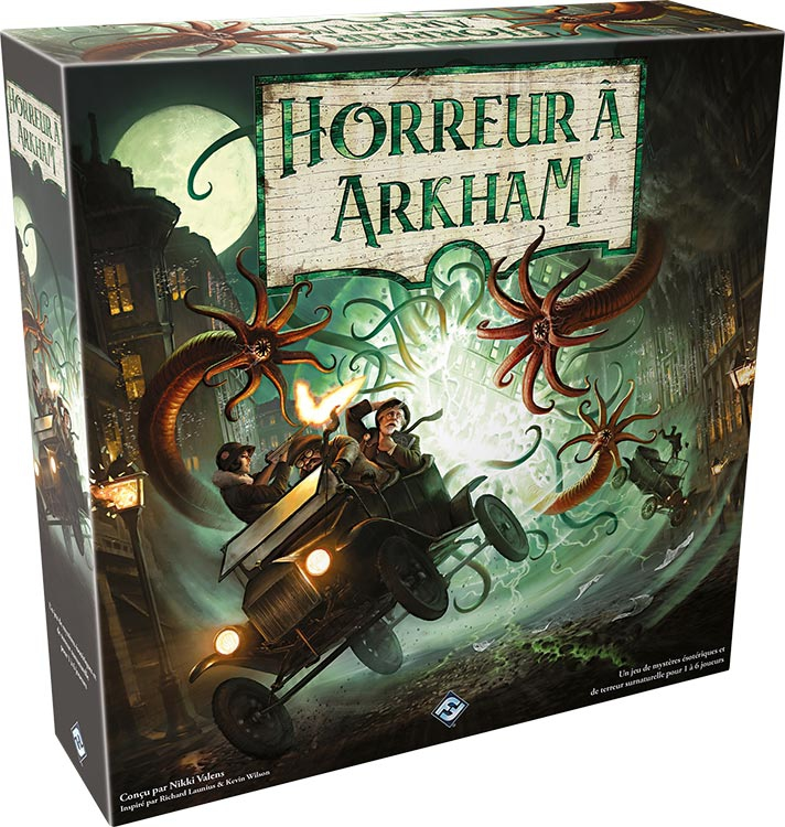 Horreur à Arkham [Fantasy Flight Game]