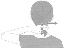 頸椎マッサージ