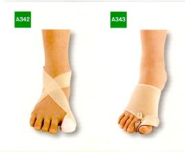 外反母趾足底下肢装具