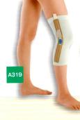 変形性膝関節症用支柱付き下肢装具