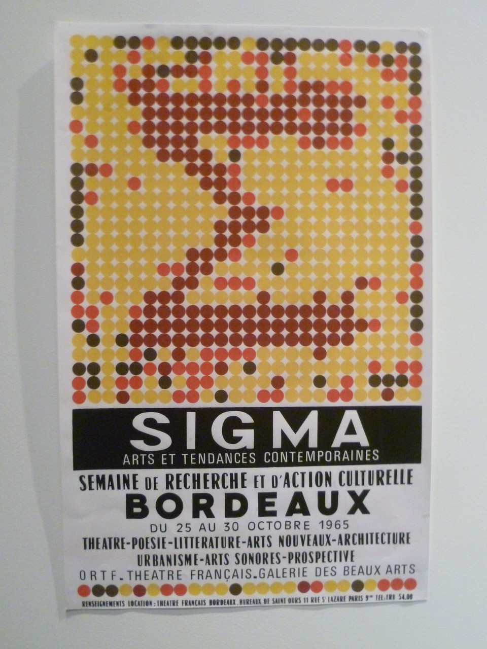 Affiche du festival Sigma