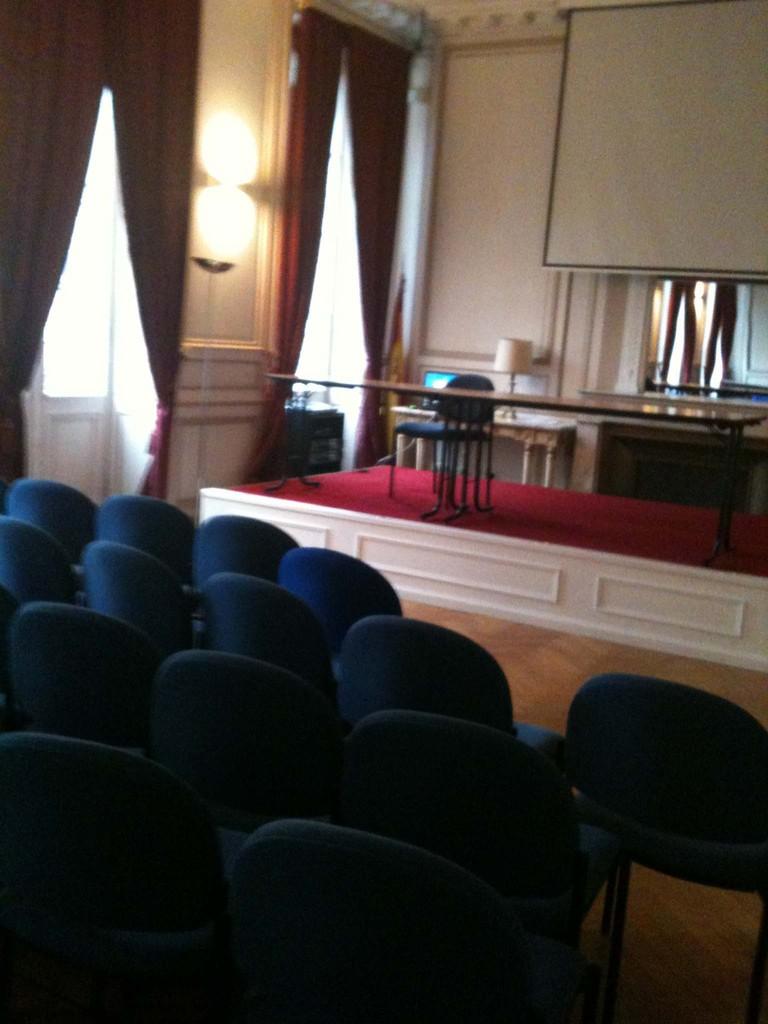 La grande salle de réception