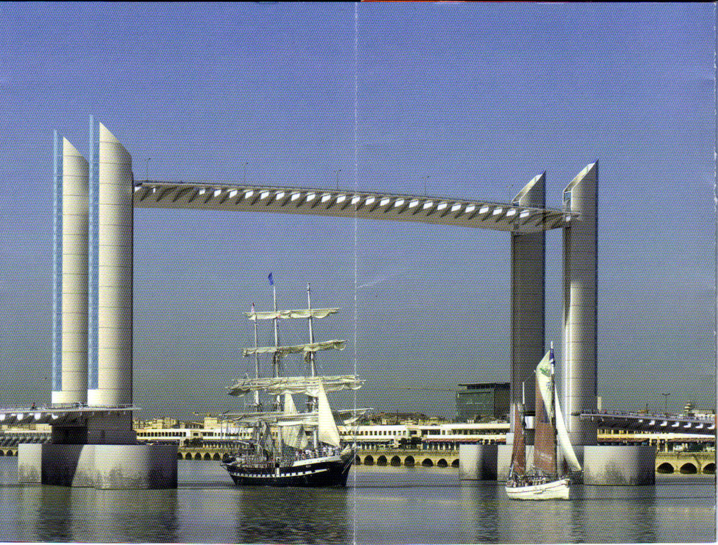 Le futur pont Bacalan-Bastide