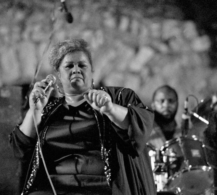 Etta James, grande chanteuse de jazz, blues et rock