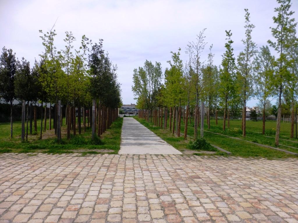 Le parc a été conçu par Michel desvigne