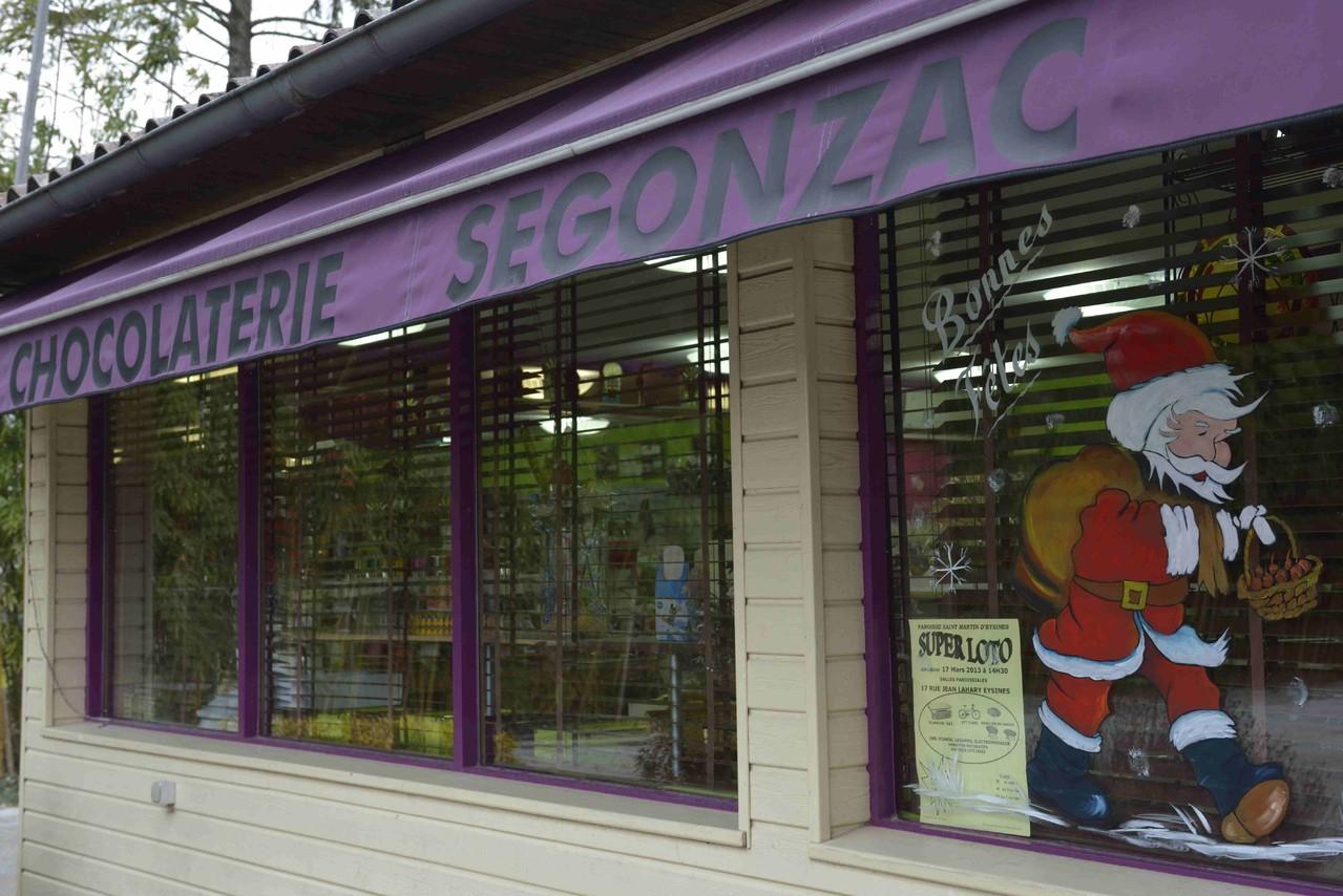 La boutique de la chocolaterie Ségonzac
