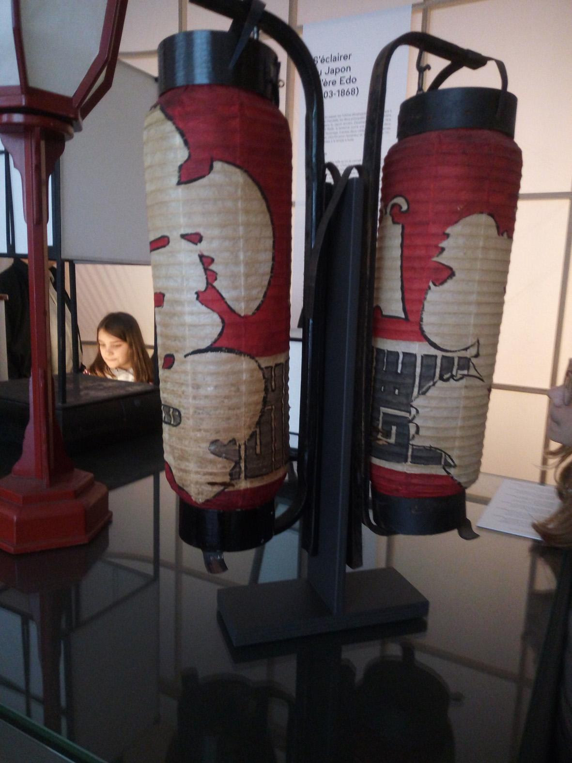 ancien éclairage avec lampe à huile( photos P. Guillot)