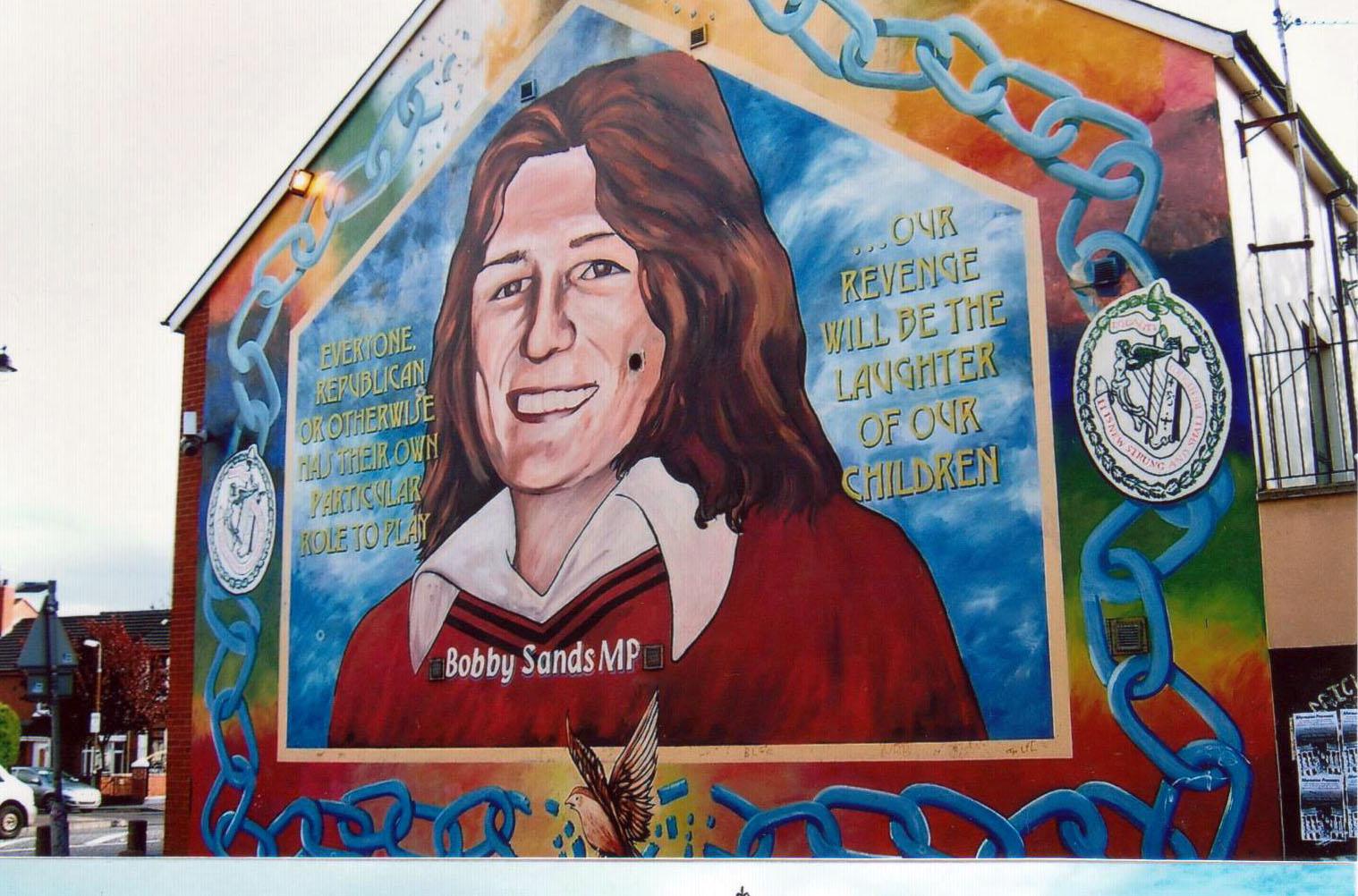 Boby Sands que Mme Thatcher laissera mourir de faim