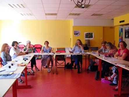 L'atelier de journalisme : de redoutables amazones ! (A. Blanchet)