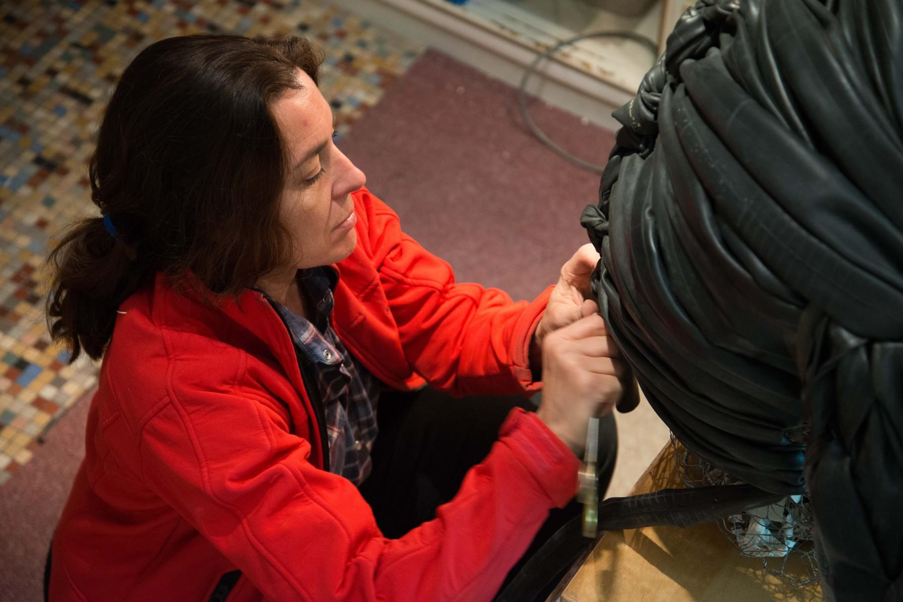 Marie-Madeleine Lacoste, sculptrice