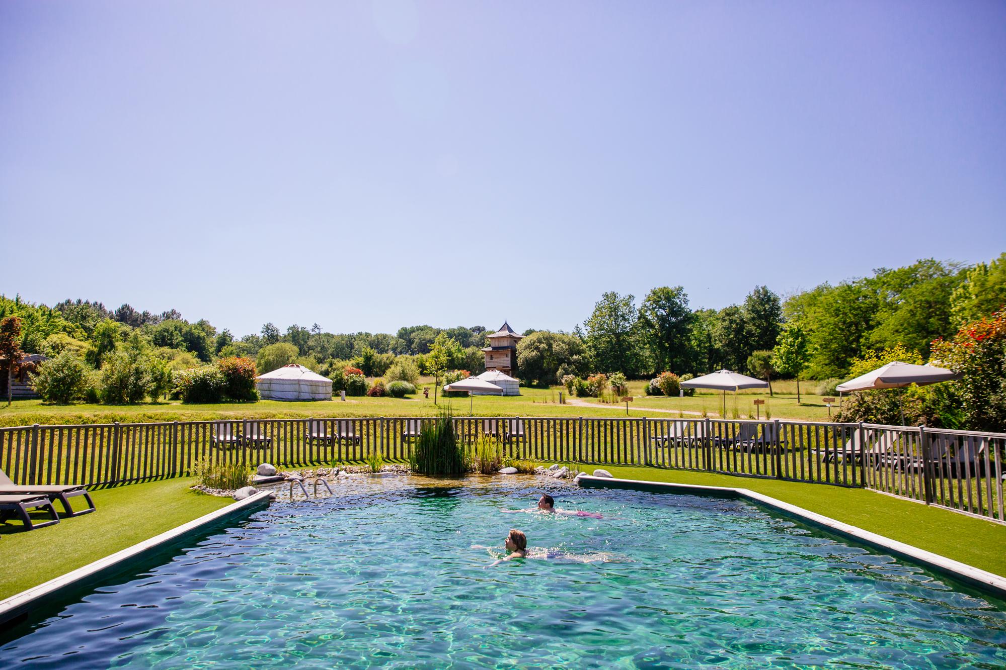 La piscine, baignade naturelle
