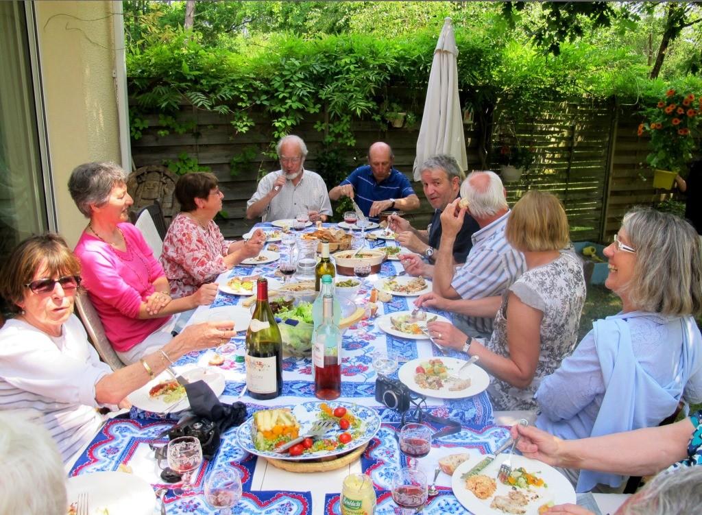 2013 : repas champêtre chez Paule