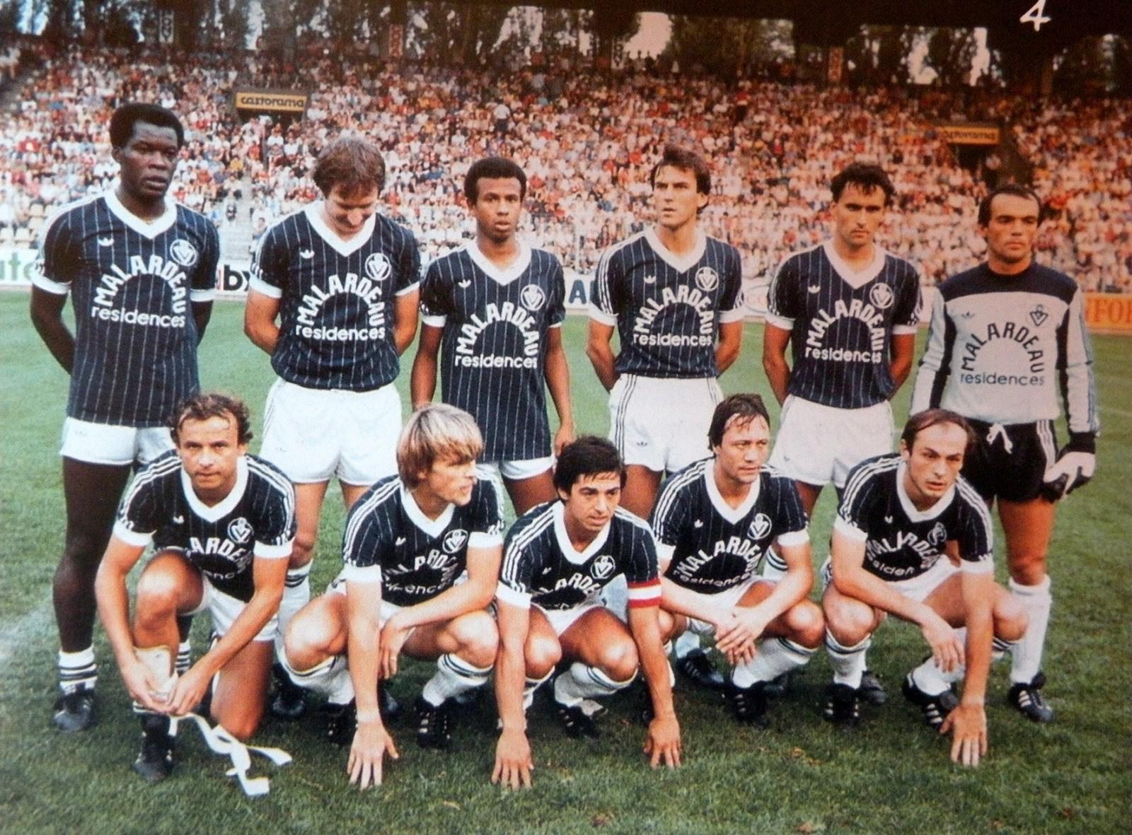 Girondins de Bordeaux 1983 1984