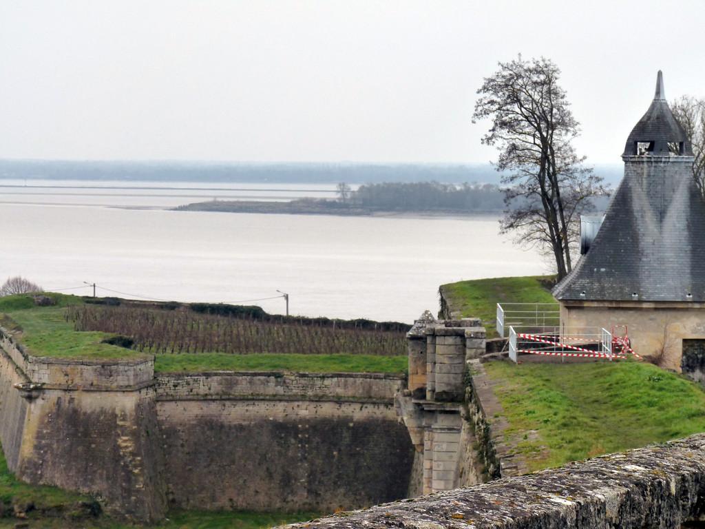 Vue des îles depuis la citadelle