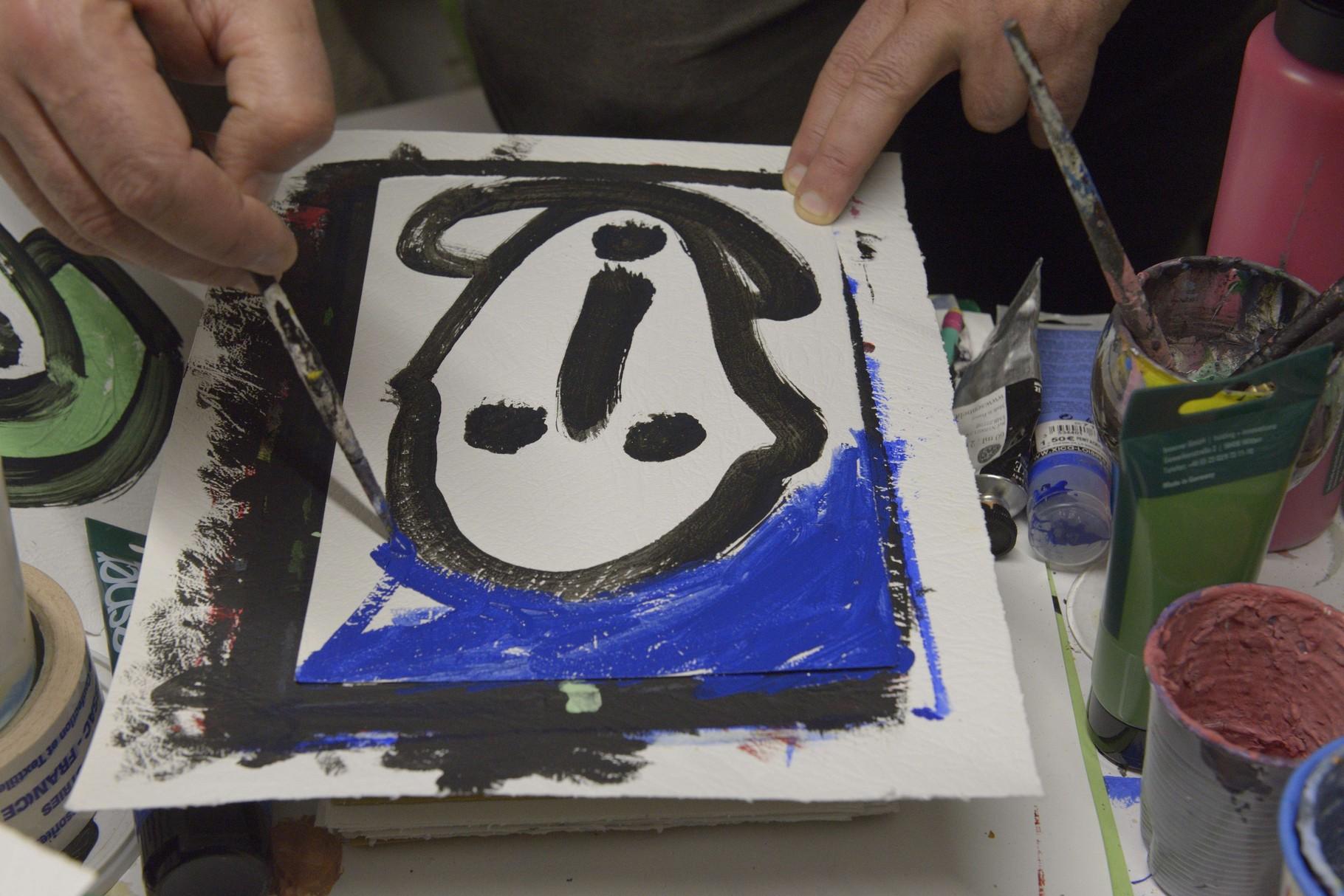 Peinture de Christophe Massé