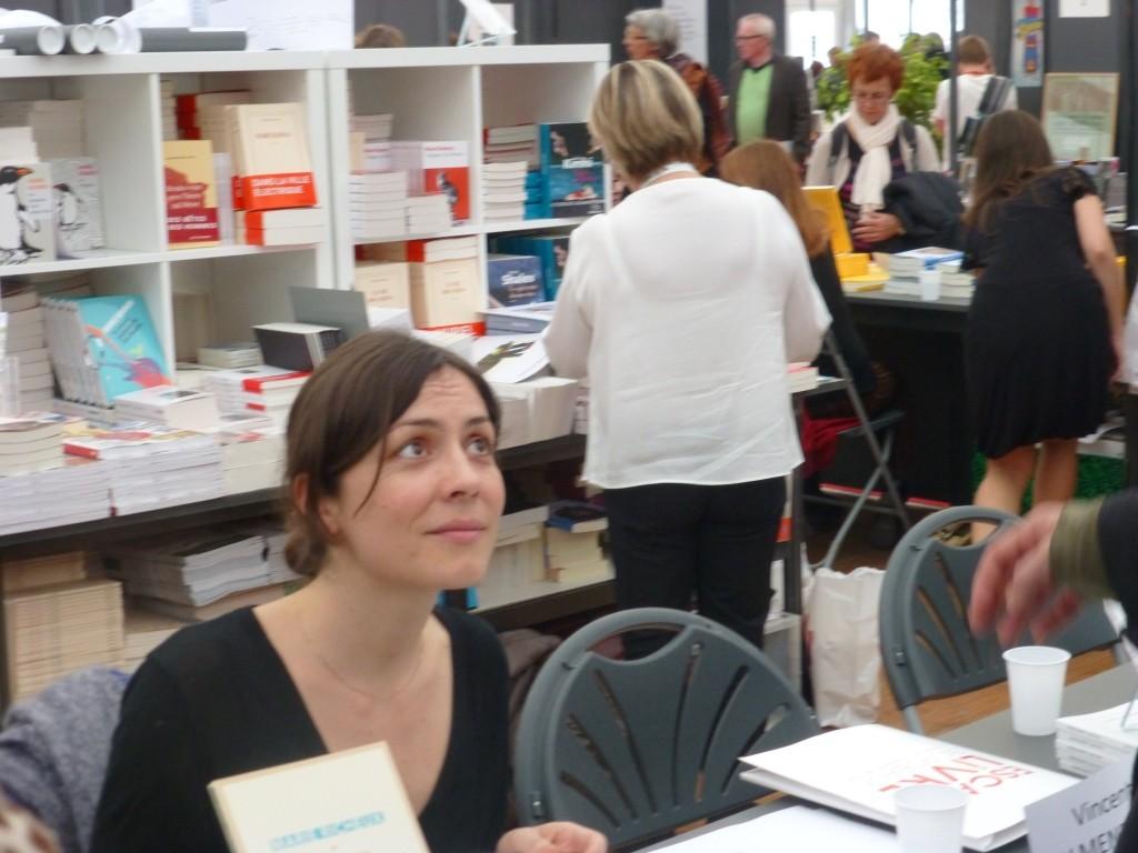 Marie Richeux converse avec les lecteurs de son roman Achille