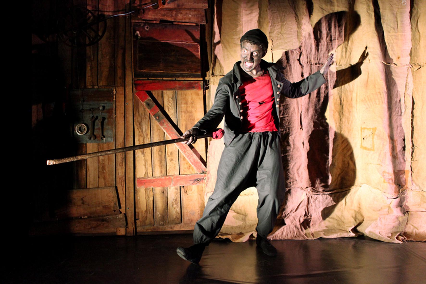 Pinok, mise en scène F. Bassot