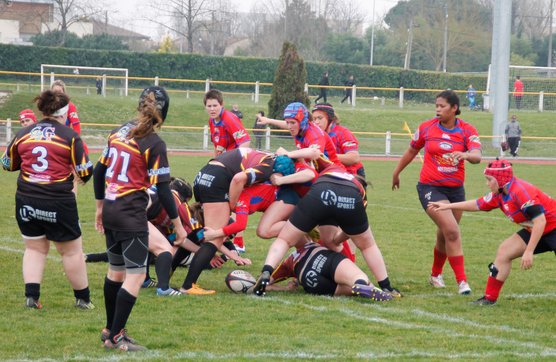 Entente sportive Blanquefort Bruges et Union sportive de Bergerac