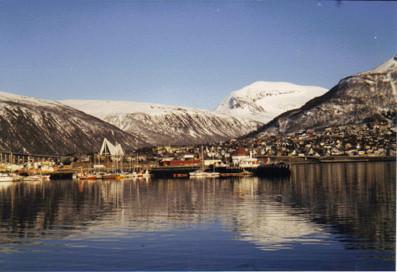 En Norvège, environs de Tromsö, proche du Cap Nord (Photographie de  P. Guillot)