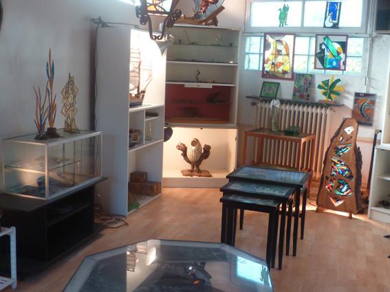 L'ensemble des travaux réalisés à l'atelier de P. Toujas