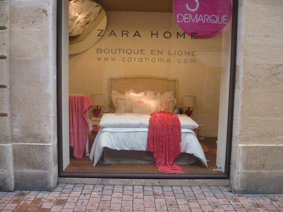 Zara Home, rue de la Porte Dijeaux