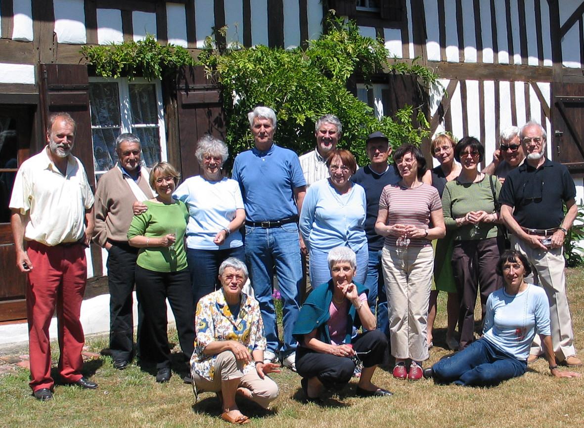 2006 : visite de l'éco-musée de Marquèze