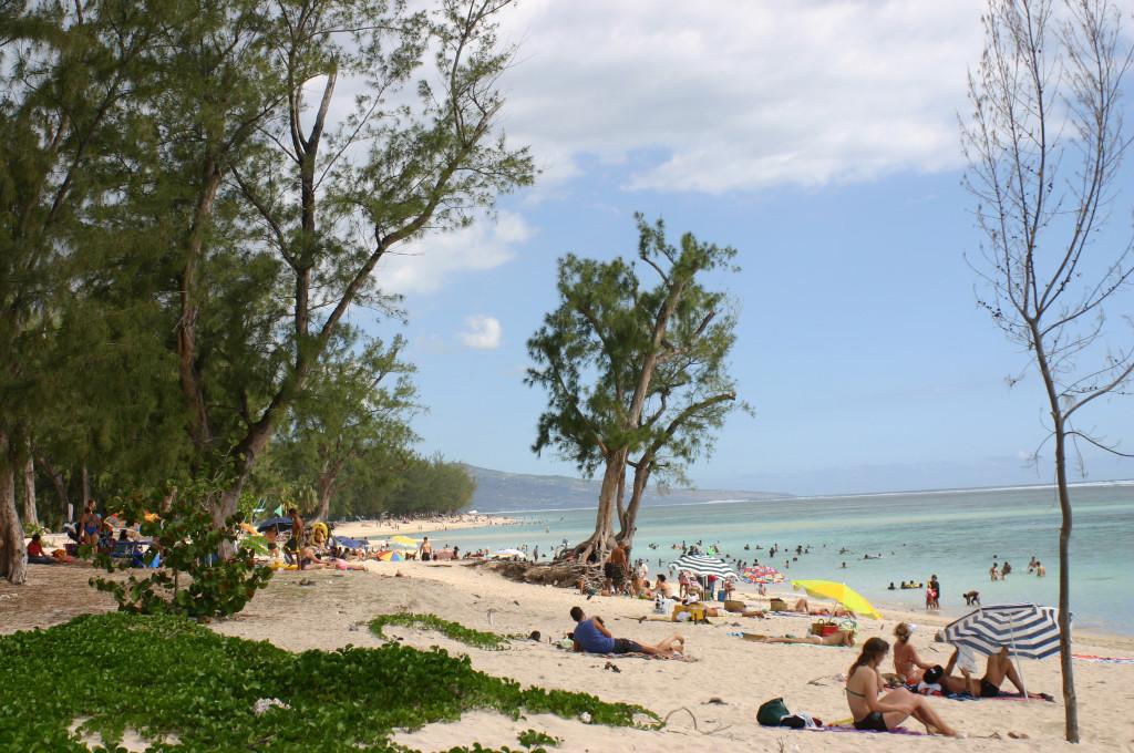 la plage (B. Lasserre)