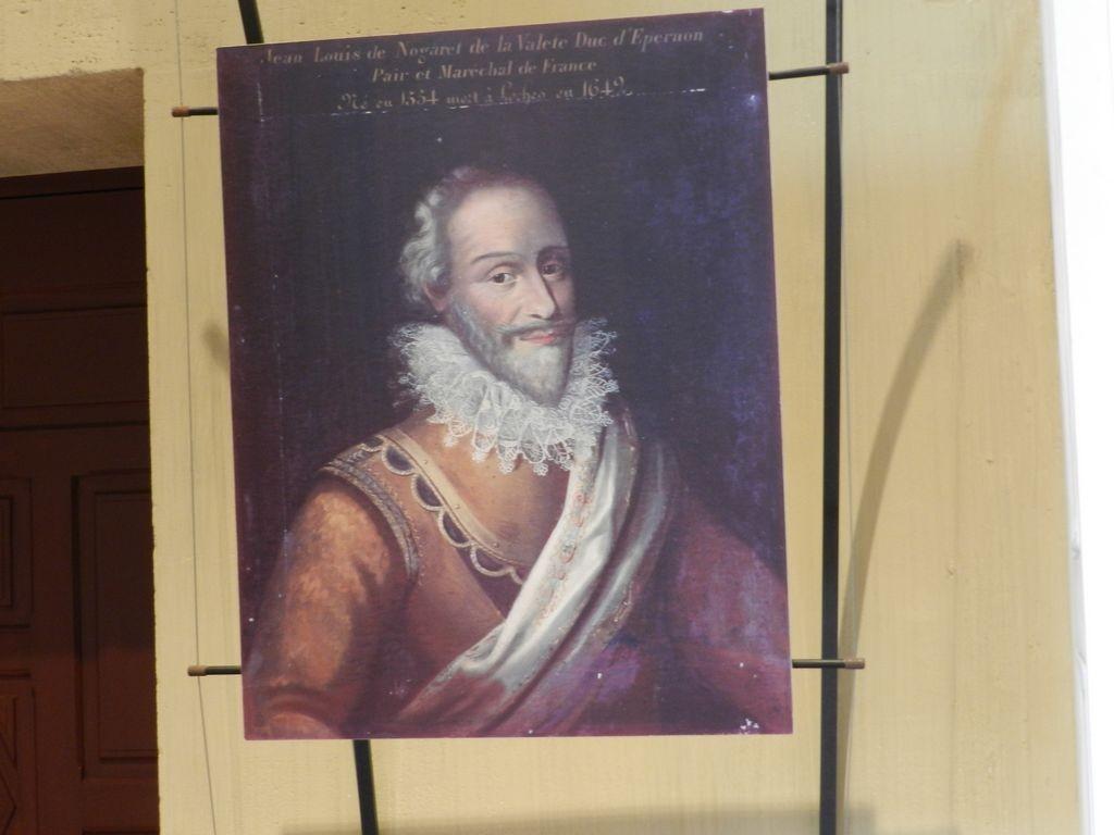 Portrait du duc d'Épernon