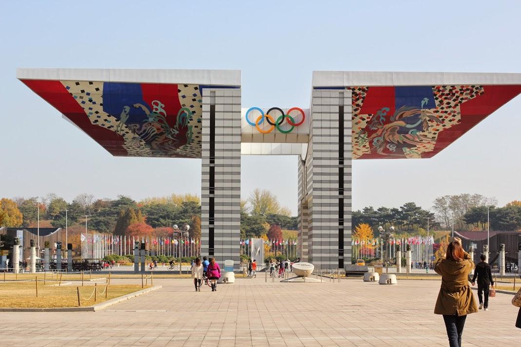 Monument des JO de 1988 à Séoul
