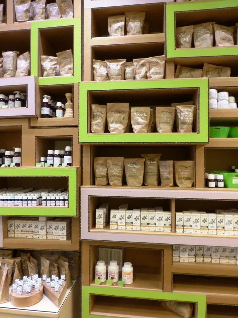 Plantes séchées, huiles essentielles
