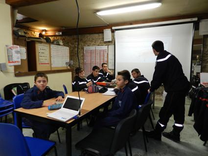 Cours théoriques (photo A. Manuel)