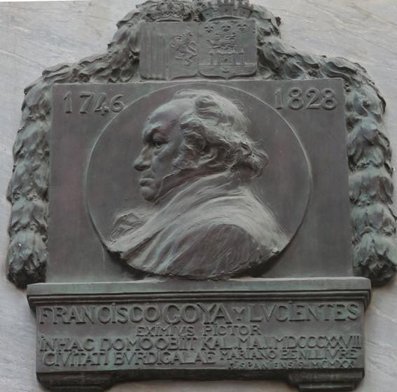 Au dessus de la porte d'entrée de l'Institut Cervantès