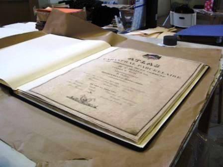 Atlas anciens restaurés