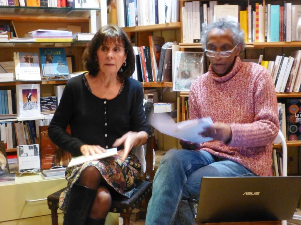 Lectures de poèmes avec Marie Laugerie et Naly Razakandraïbé