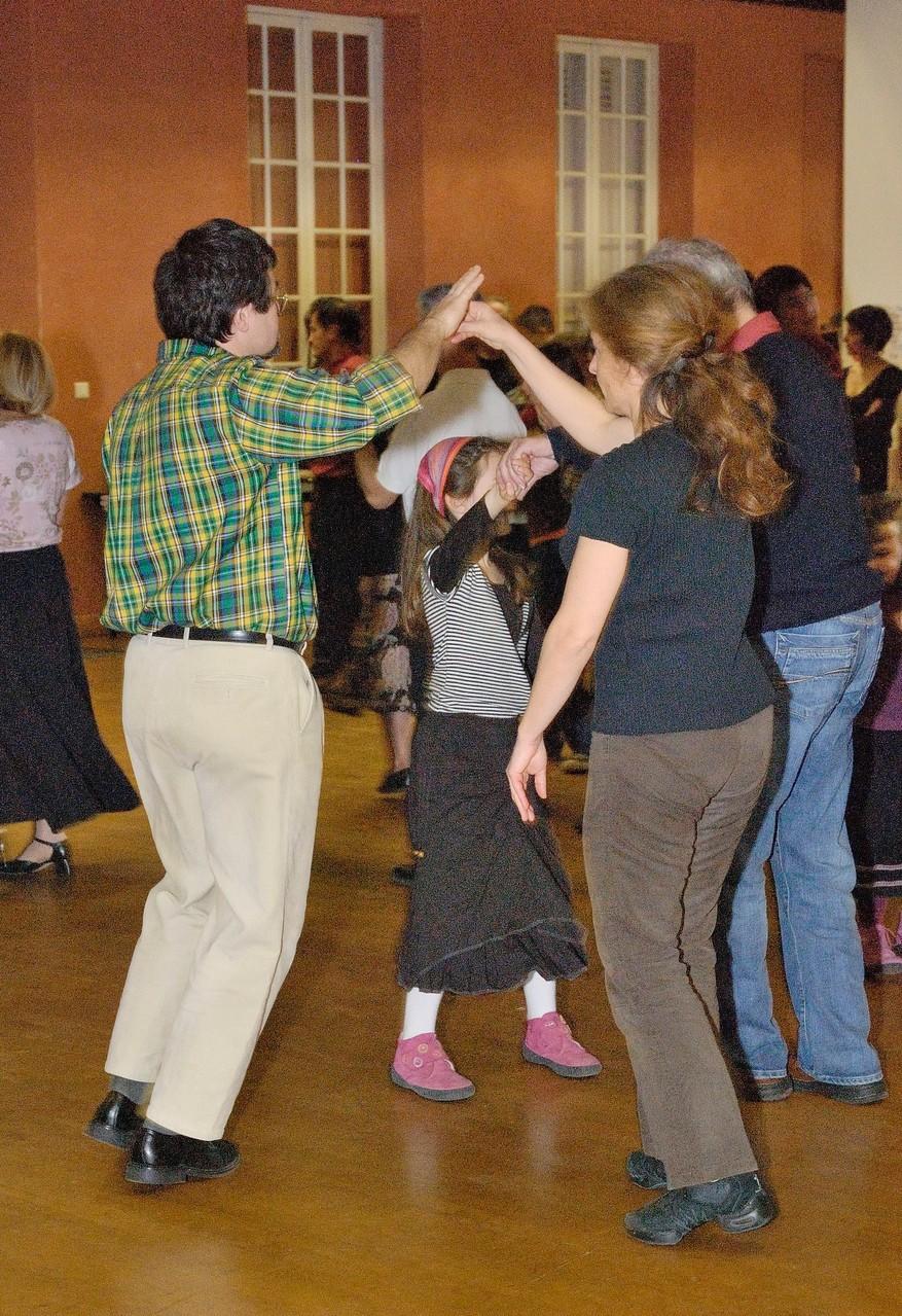 Cours collectif avant le bal
