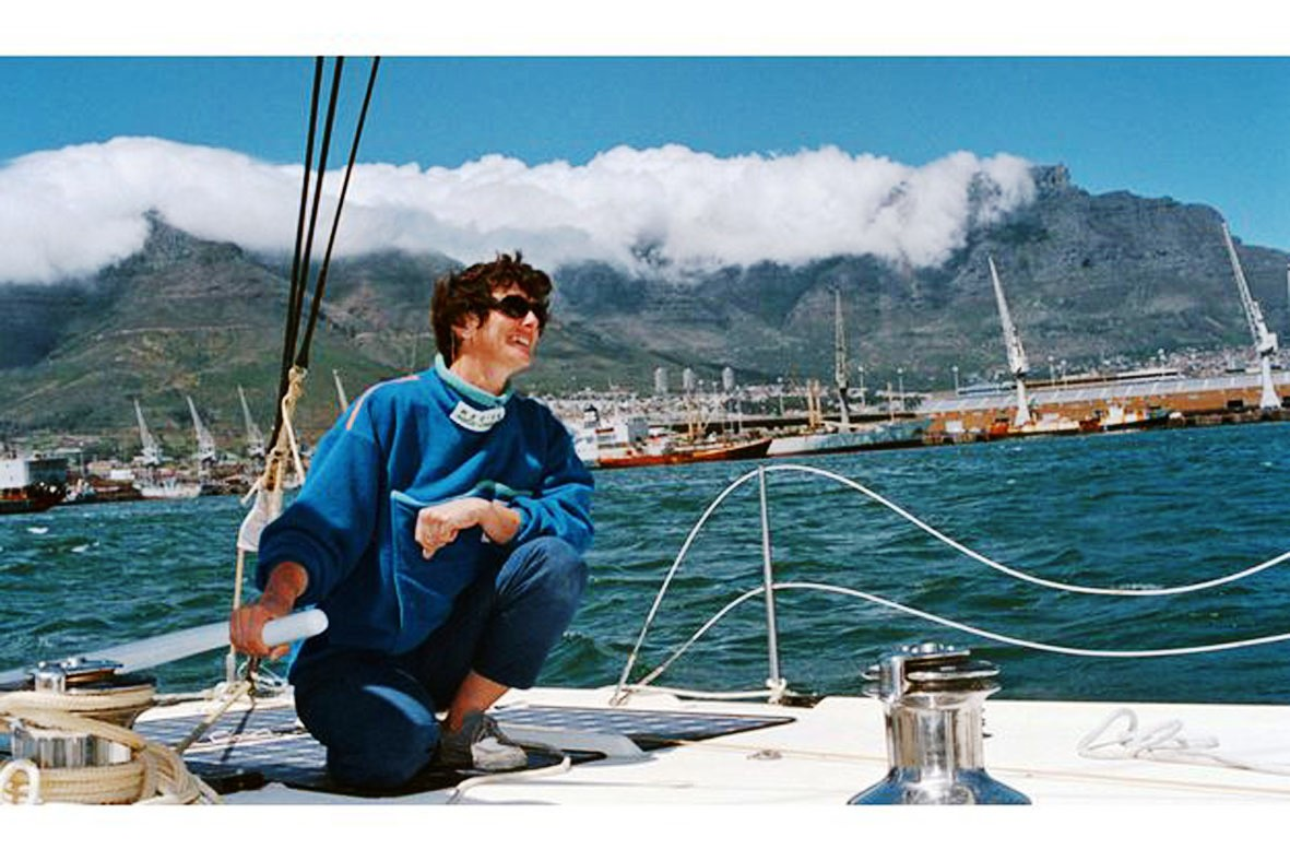 Isabelle affronte l'océan(D.R.)