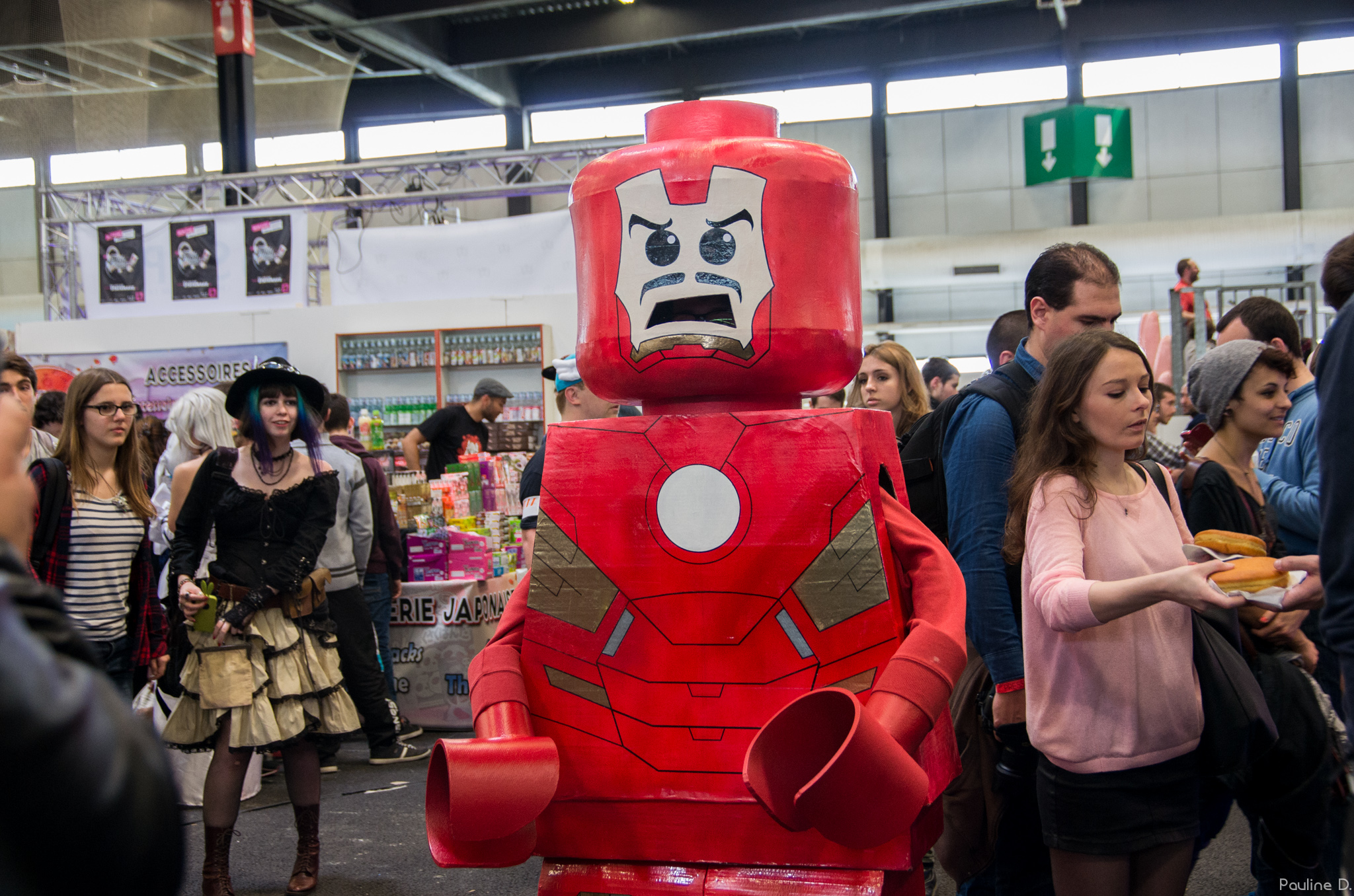 Stark (Iron Man), cosplay de Lego
