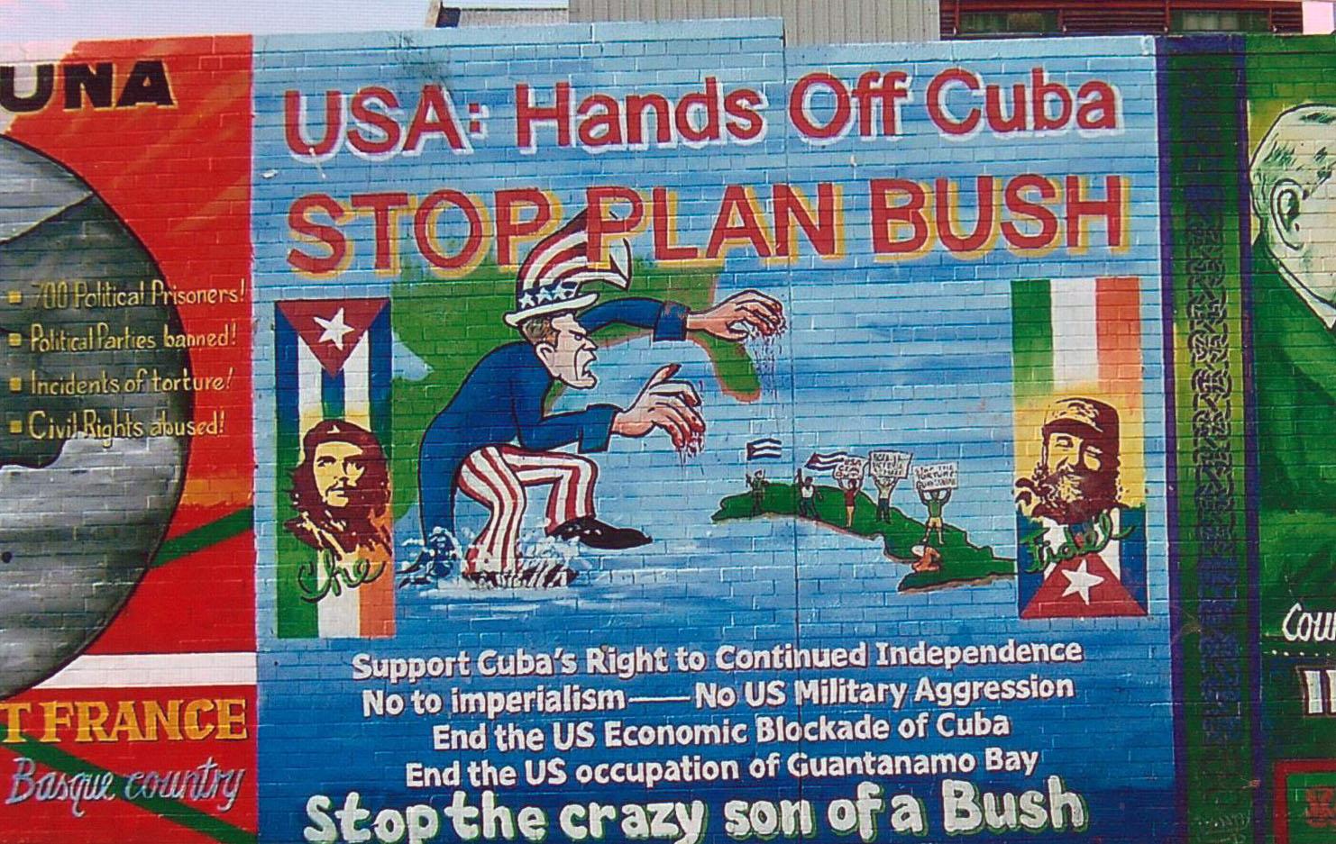 Le président des USA largement critiqué pour sa position par rapport à Cuba