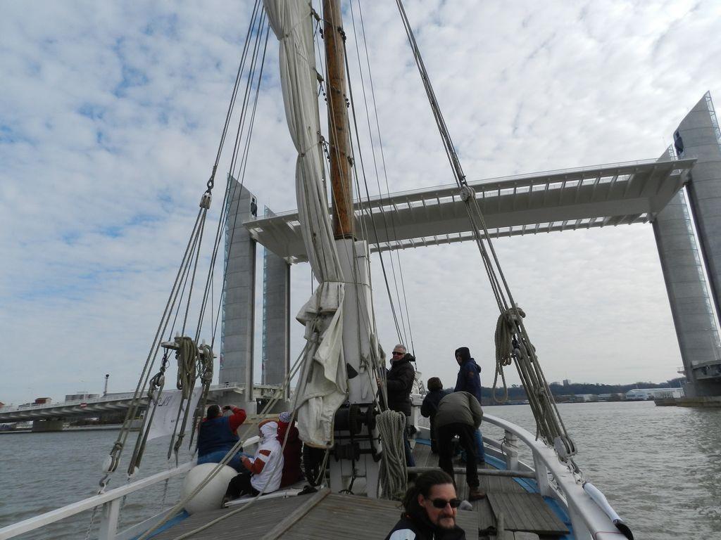 Passage sous le nouveau pont