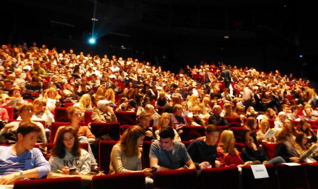 Un public très jeune de lycéens et d'étudiants