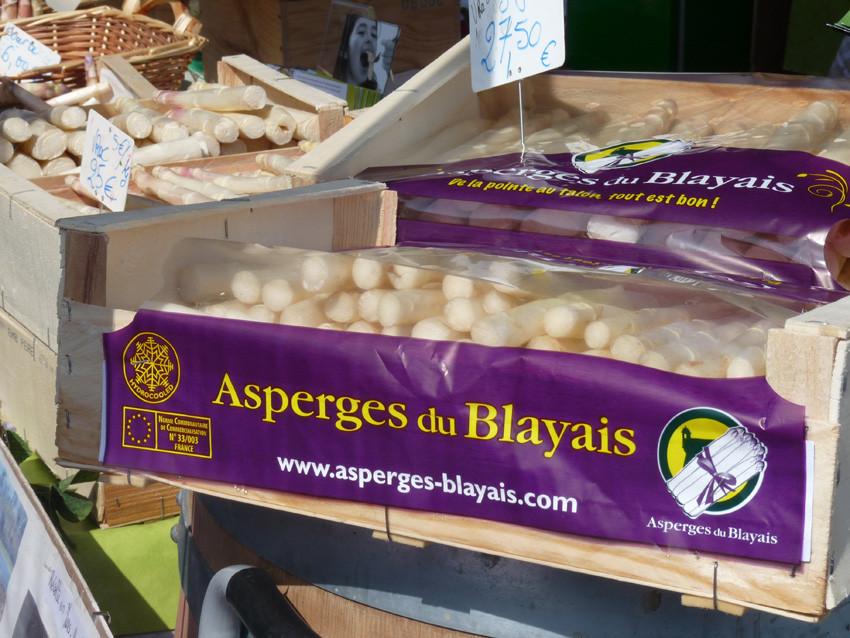 Des asperges blanches