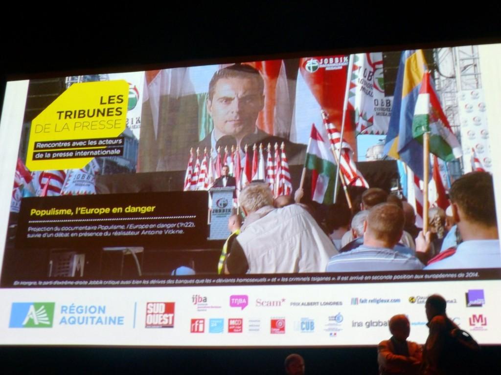 Débat sur la montée des populismes en Europe avec Antoine Vitkine