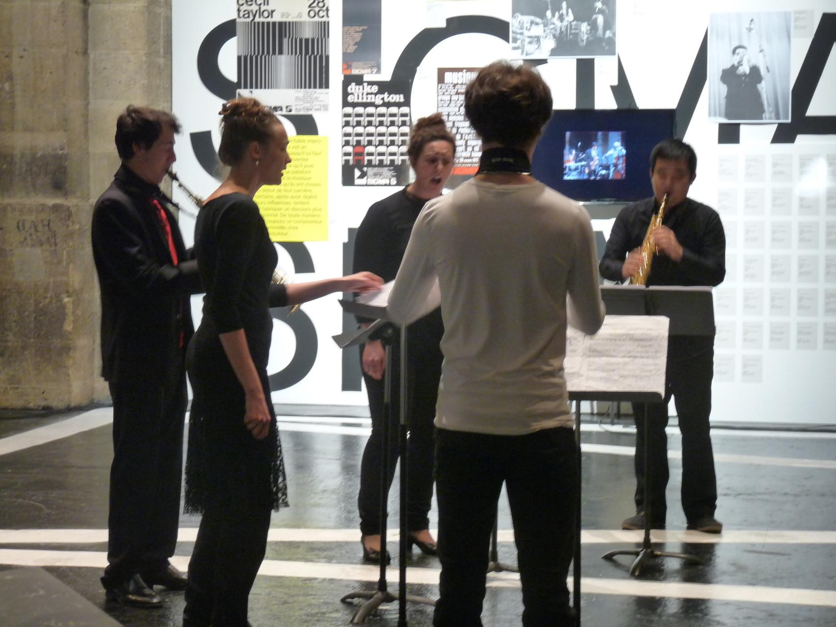 Concert donné par les élèves du Conservatoire