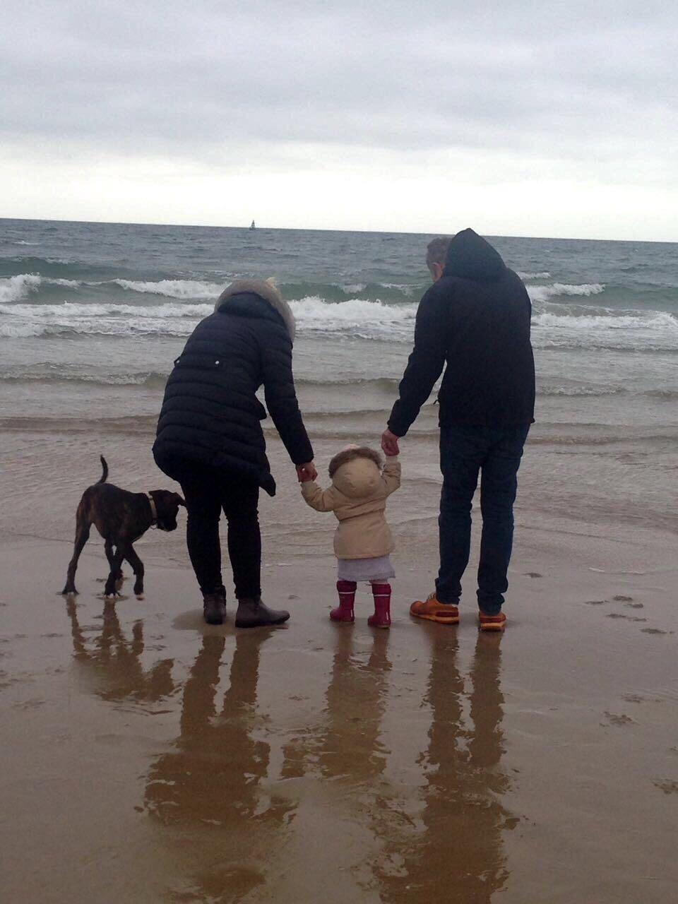 der erste gemeinsame Urlaub am Meer...