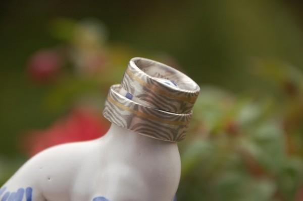 Silber/Palladium mit Roldring